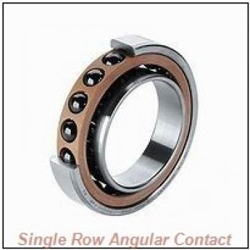 2 Inch x 4 Inch x 0.813 Inch  Hoffmann ls15ac-hoffmann Single Row Angular Contact Bearings