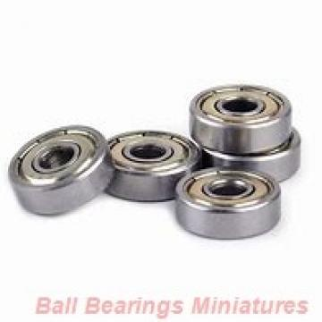 5mm x 13mm x 4mm  ZEN sf695-zen Ball Bearings Miniatures