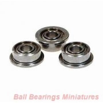 5mm x 11mm x 5mm  SKF w638/5r-2z-skf Ball Bearings Miniatures