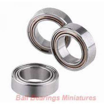 5mm x 11mm x 3mm  ZEN s685-zen Ball Bearings Miniatures