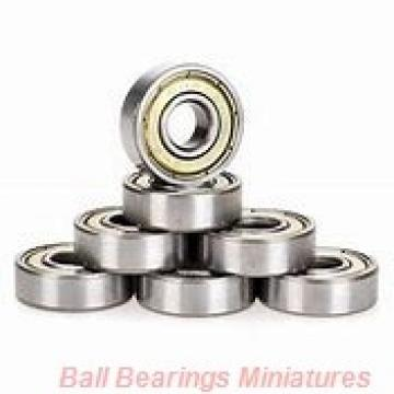 6mm x 15mm x 5mm  ZEN s696-2rs-zen Ball Bearings Miniatures