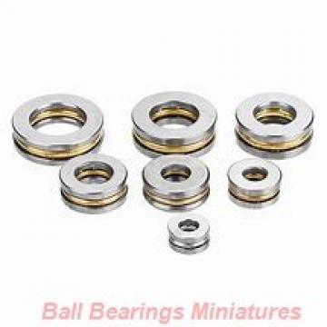 5mm x 16mm x 5mm  ZEN sf625-2rs-zen Ball Bearings Miniatures